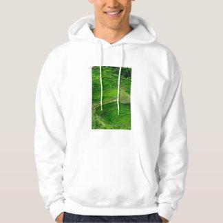 Green Rice terraces, Philippines Hoodie