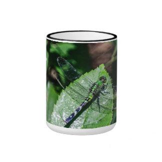 Green Ringer Coffee Mug