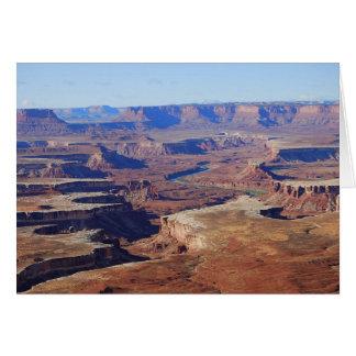Green River, Canyonlands National Park, Utah Card