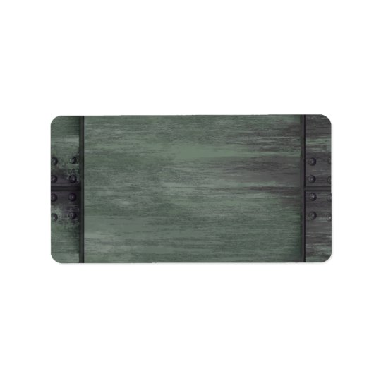 Green riveted steel texture