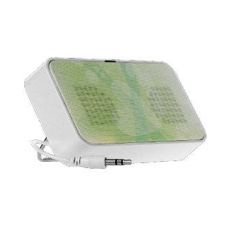 Green Romantic Hearts Mp3 Speaker