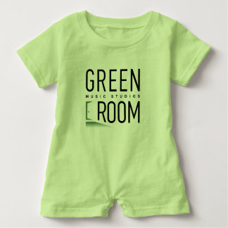 Green Room Music Studios Baby Romper for Musicians