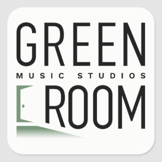 Green Room Music Studios Stickers