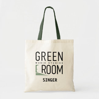 Green Room Music Studios Tote Bag for Singers