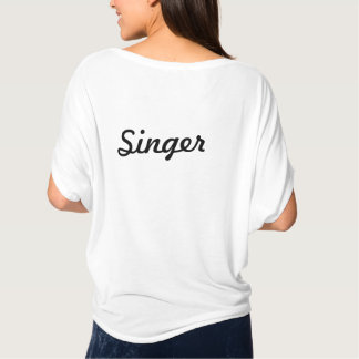 Green Room Singer flowy womens top