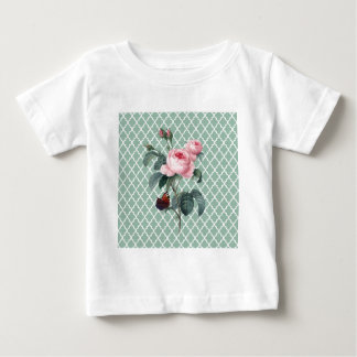 Green Rose Orient Baby T-Shirt