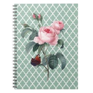 Green Rose Orient Notebooks