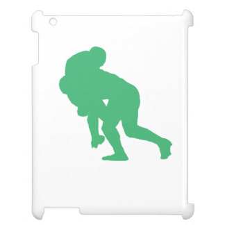 Green Rugby Tackle iPad Case