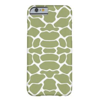 Green Safari Giraffe Barely There iPhone 6 Case