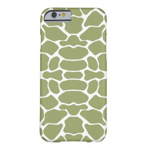 Green Safari Giraffe iPhone 6 Case
