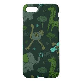 Green Safari iPhone 7 Case