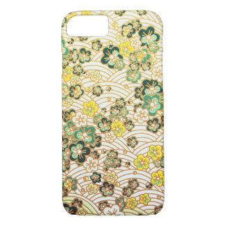 Green Sakura iPhone 7 Case