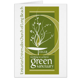 Green Sanctuary Greeting Cards