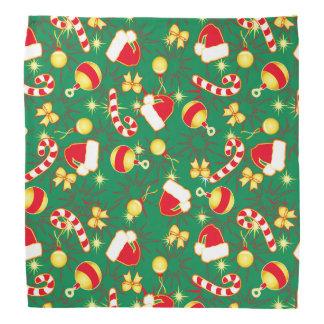 Green - Santa's cap Bandana