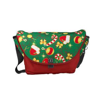 Green - Santa's cap Commuter Bags