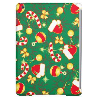 Green - Santa's cap Cover For iPad Air