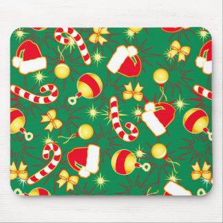 Green - Santa's cap Mouse Pad