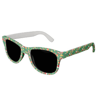 Green - Santa's cap Sunglasses