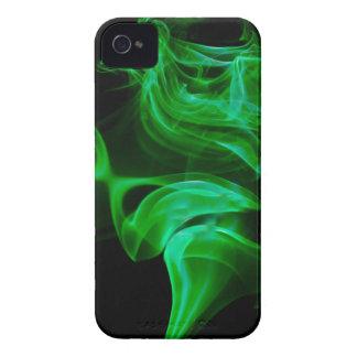 Green Satin fractal Case-Mate iPhone 4 Case