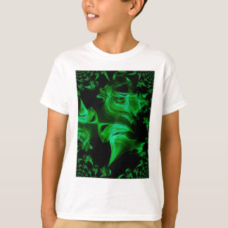 Green Satin fractal T-Shirt