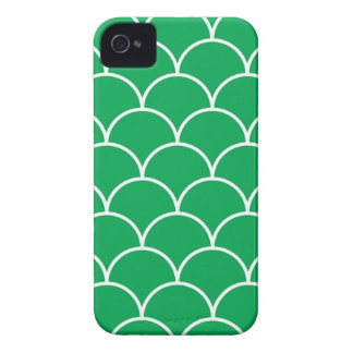 Green scales pattern iPhone 4 cover