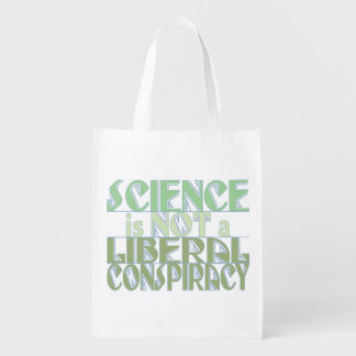 Green Science Liberal Conspiracy Reusable Grocery Bag