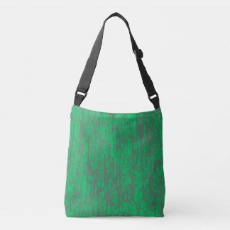 green scratchy tote bag