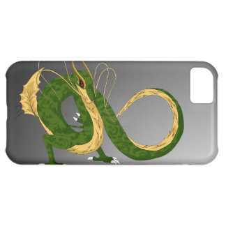 Green Sea Dragon Gray iPhone 5c Cover