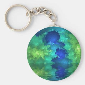 Green Sea Keychains