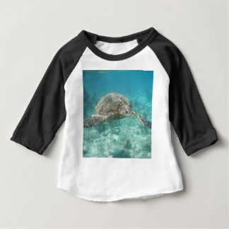 Green Sea Turtle Baby T-Shirt