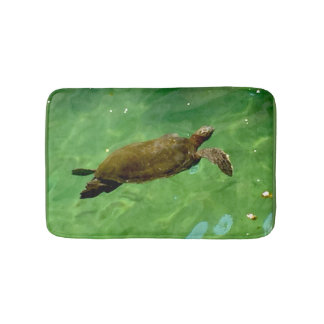Green Sea Turtle Bath Mat