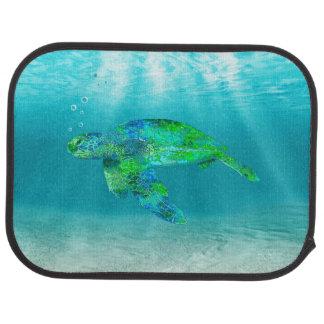 Green Sea Turtle Car Carpet