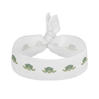 Green Sea Turtle Cartoon Hair Tie
