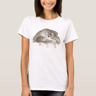 Green Sea Turtle Drawing T-Shirt