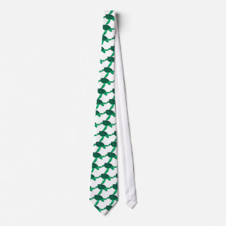 Green sea turtle fancy shell tie