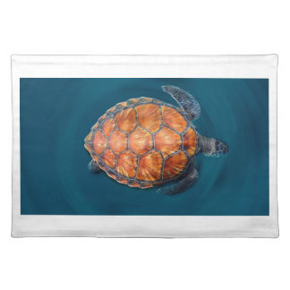 Green Sea Turtle Placemat