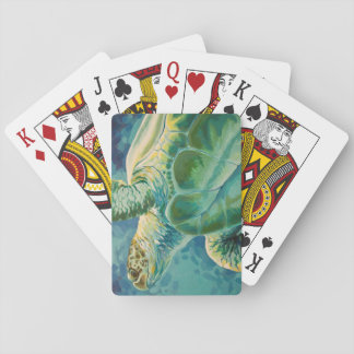Green Sea Turtle Playing Cards