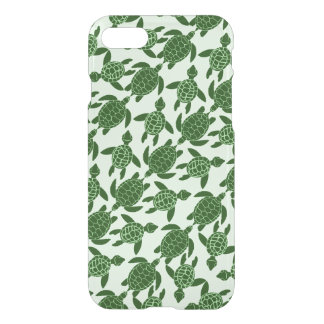 Green Sea Turtle Pretty Animal Pattern iPhone 7 Case