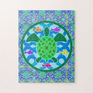 Green Sea Turtle Puzzle