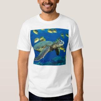 Green Sea Turtle, SEA of Zazzle Tshirt