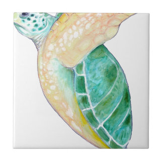 Green Sea Turtle Tile