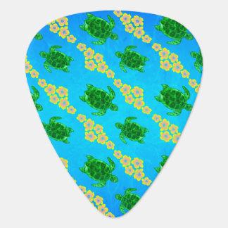 Green Sea Turtles Guitar Pick