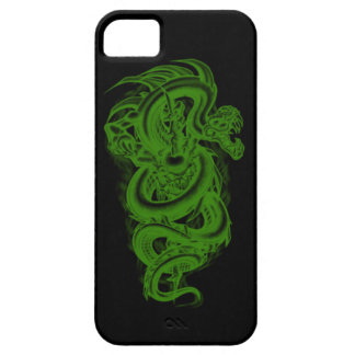 Green Serpent iPhone 5G Case