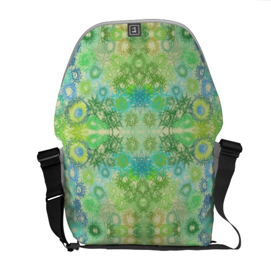 Green Shades Courier Bag