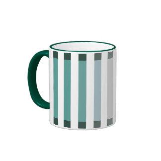 Green Shades Ringer Coffee Mug