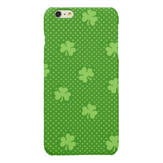 Green Shamrock Clover Pattern Saint Patricks Day