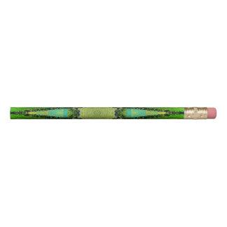 Green Shapes Pencil