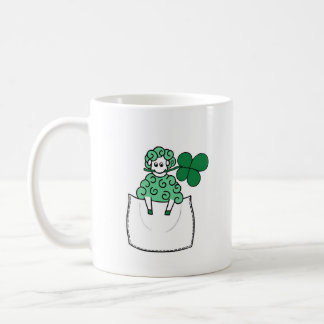 Green Sheep Mug
