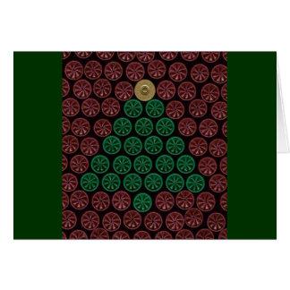Green Shotgun Shell tree Card
