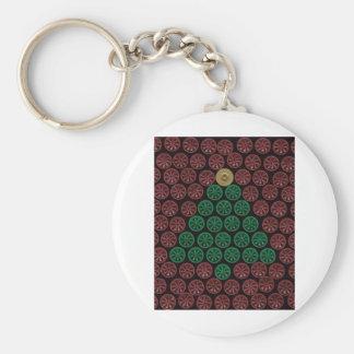 Green Shotgun Shell tree Keychain